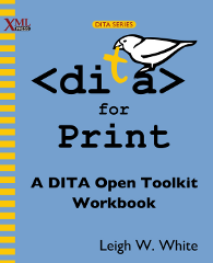 Front cover of DITA for Print