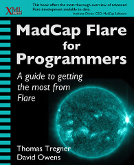 Front cover of MadCap Flare for Programmers