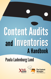 Cover of Content Audits and Inventories, linked to Amazon.com