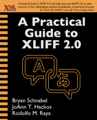 Cover of A Practical Guide to XLIFF 2.0, linked to Amazon.com